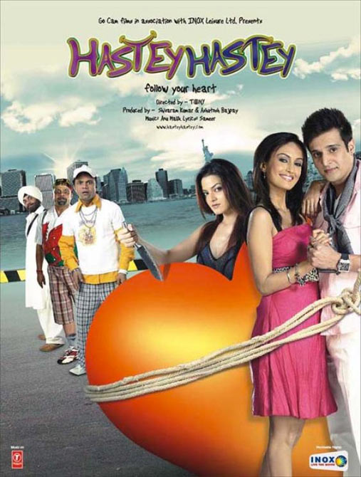 Movie poster of Hastey Hastey