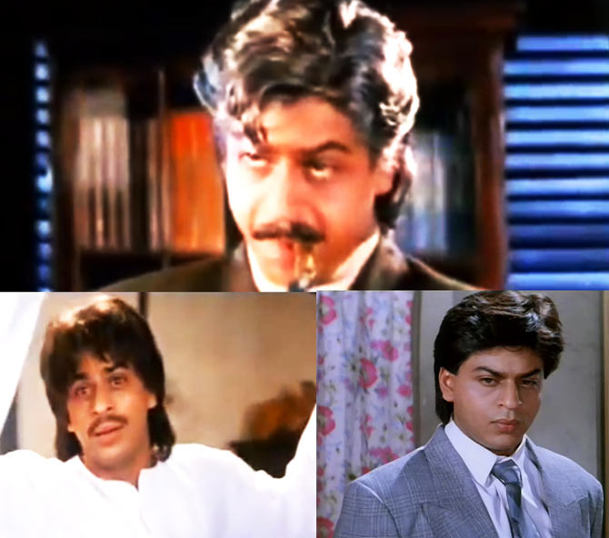 Shah Rukh Khan in English Babu Desi Mem