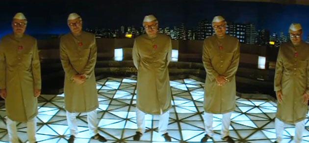 Anupam Kher in Oh Darling! Yeh Hai India!