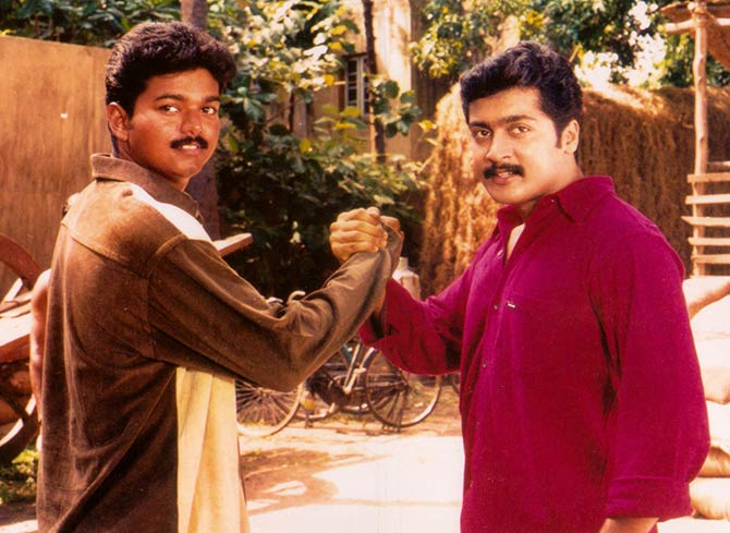 Vijay and Suriya in Friends