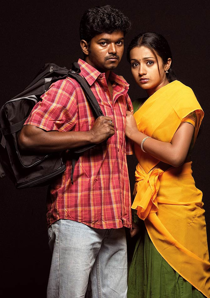 Vijay and Trisha in Ghilli