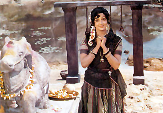 Hema Malini in Sholay