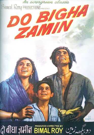 Movie poster of Do Bigha Zamin