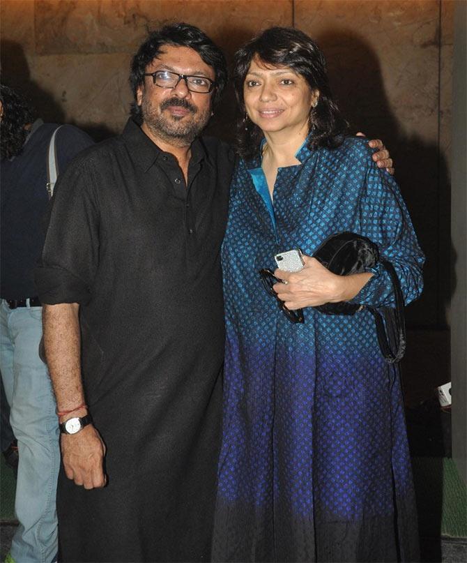 Sanjay Leela Bhansali and Bela Sehgal