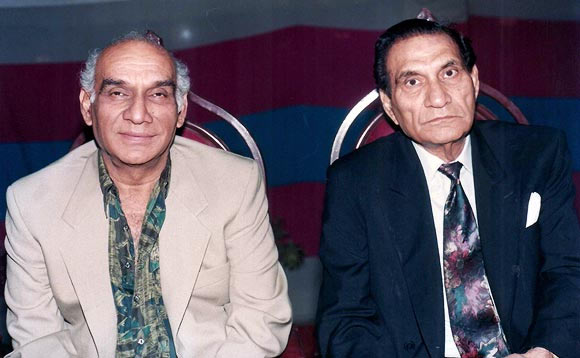 Yash Chopra and BR Chopra