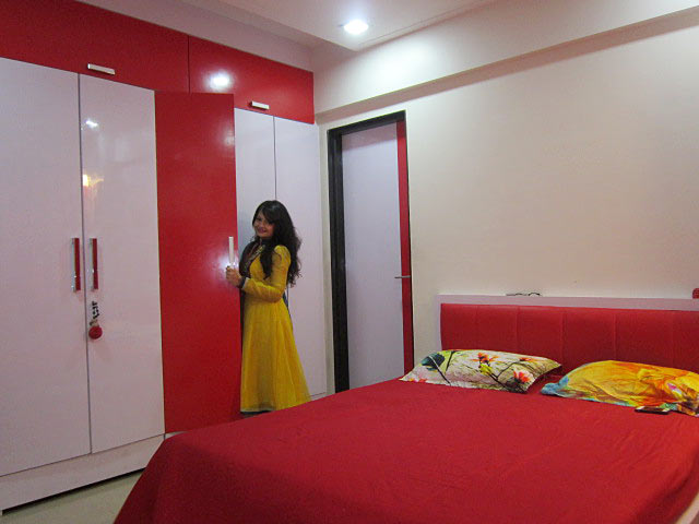 Giaa Manek's Malad home