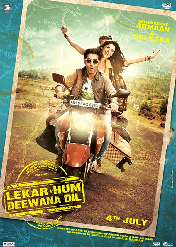 Movie poster of Yeh Jawani Hai Deewani