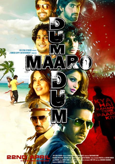 Movie poster of Dum Maaro Dum