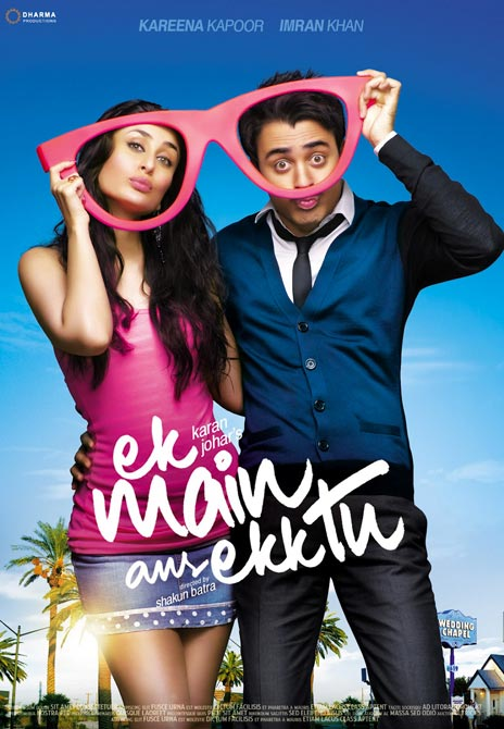 Movie poster of Ek Main Aur Ekk Tu