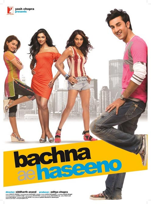 Movie poster of Bachna Ae Haseeno