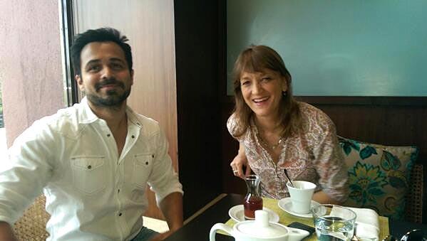 Emraan Hashmi and Karen Tenkhoff