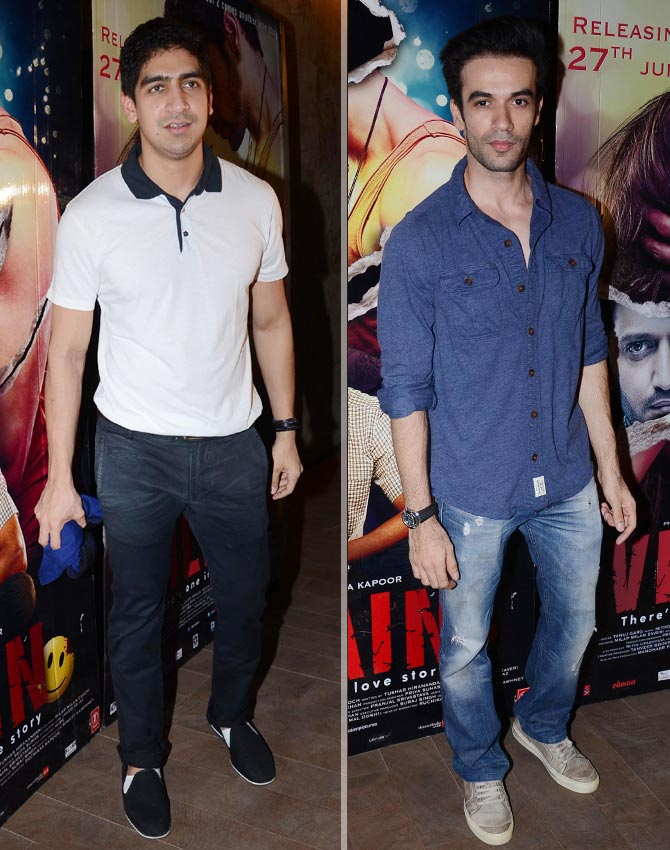 Ayan Mukherji and Punit Malhotra