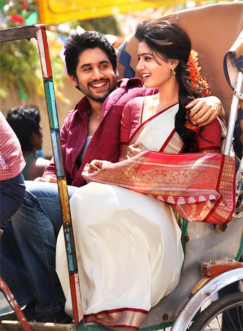 Naga Chaitanya and Samantha in  Autonagar Surya