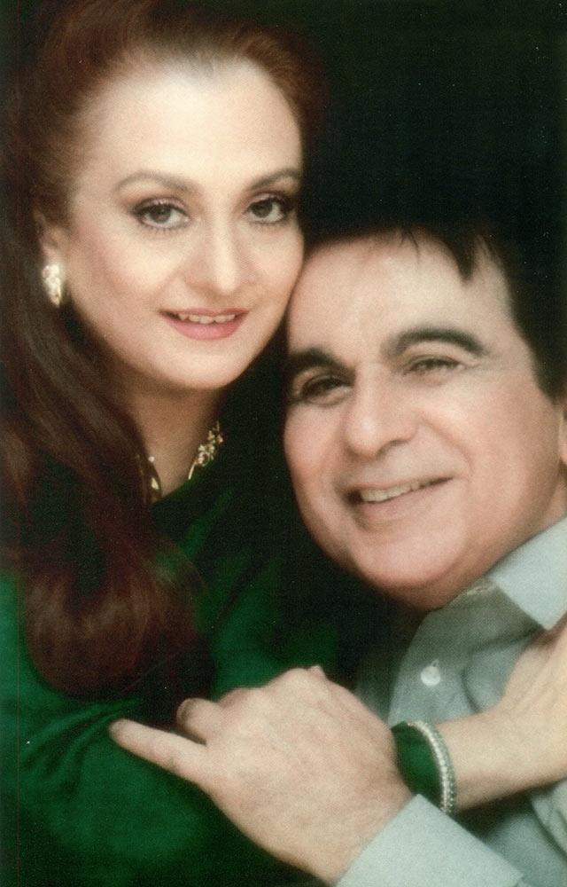 Saira Banu and Dilip Kumar