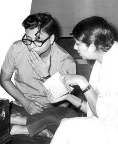 R D Burman and Lata Mangeshkar