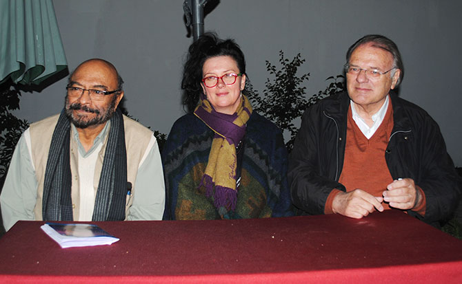 Govind Nihalani, Maxine Williamson and Klaus Eder