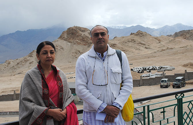 Deepti Naval and Rajat Kapoor