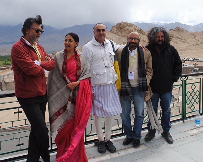 Rakeysh Omprakash Mehra, Deepti Naval, Rajat Kapoor, Govind Nihalani and Amol Gupte