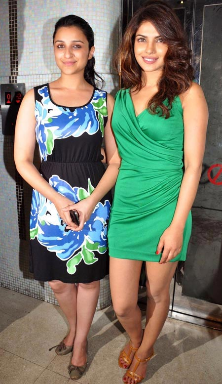 Parineeti and Priyanka Chopra.
