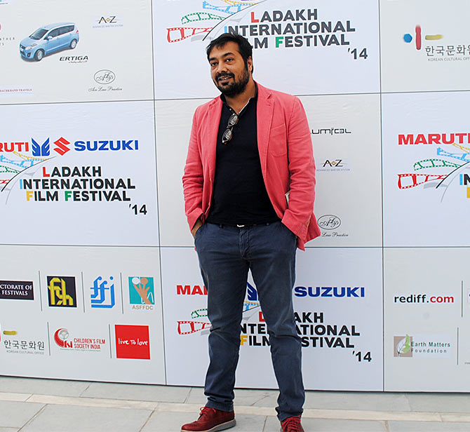 Anurag Kashyap at the screening of Ugly at the Ladakh International Film Festival