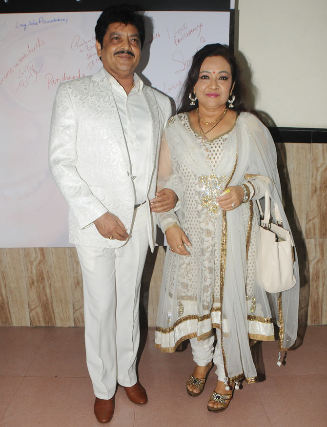 Udit Narayan with wife Deepa
