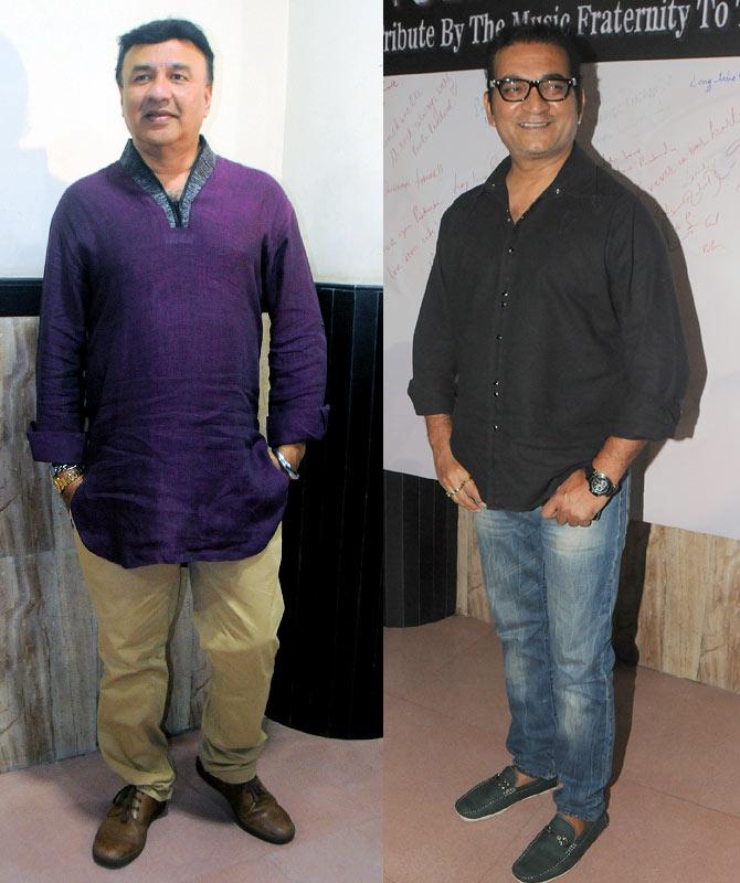 Anu Malik, Abhijeet Bhattacharya