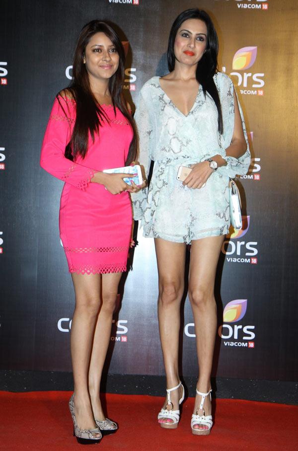 Pratyusha Banerjee and Kamya Punjabi