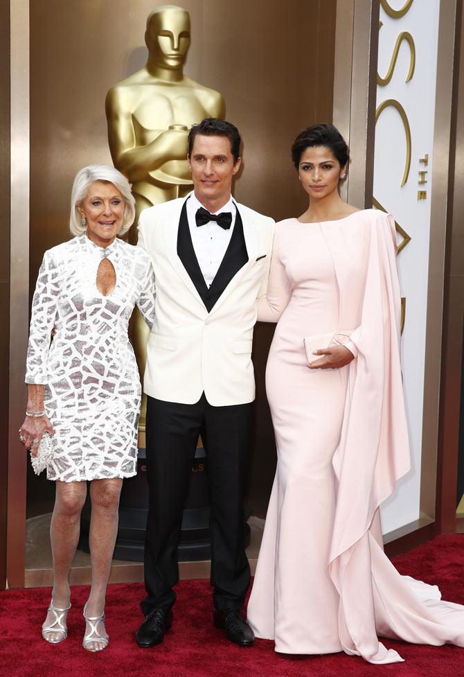 Matthew McConaughey, Camila Alves, Mary Kathleen