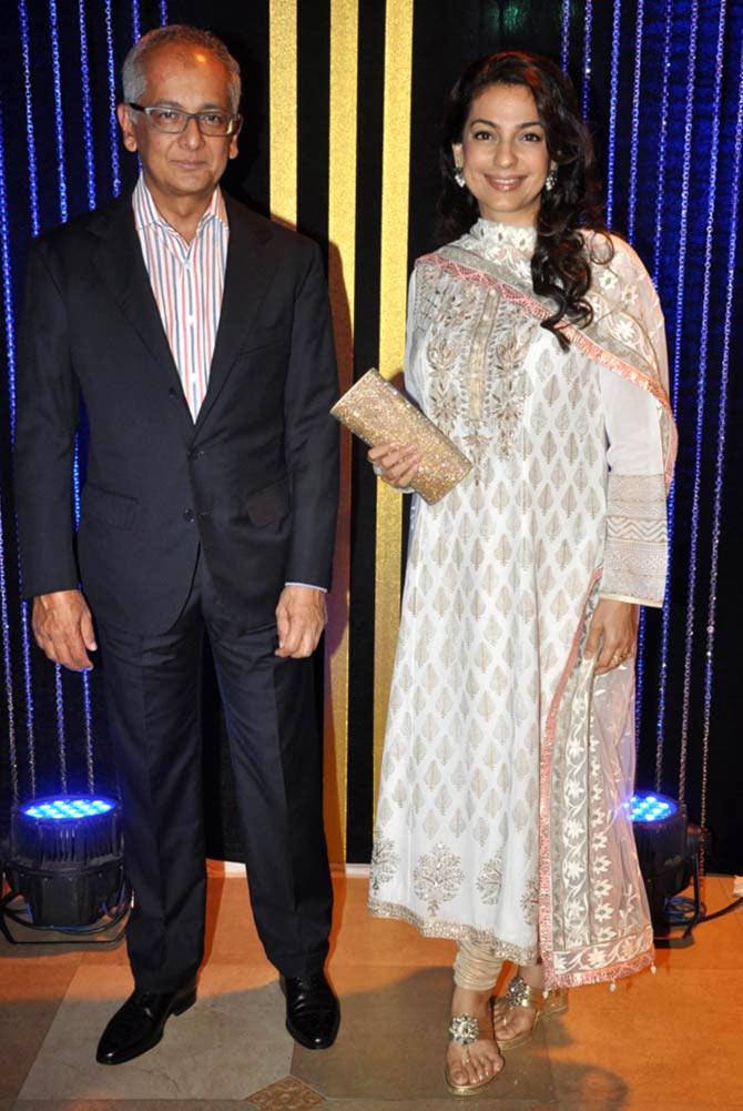 Jay Mehta and Juhi Chawla