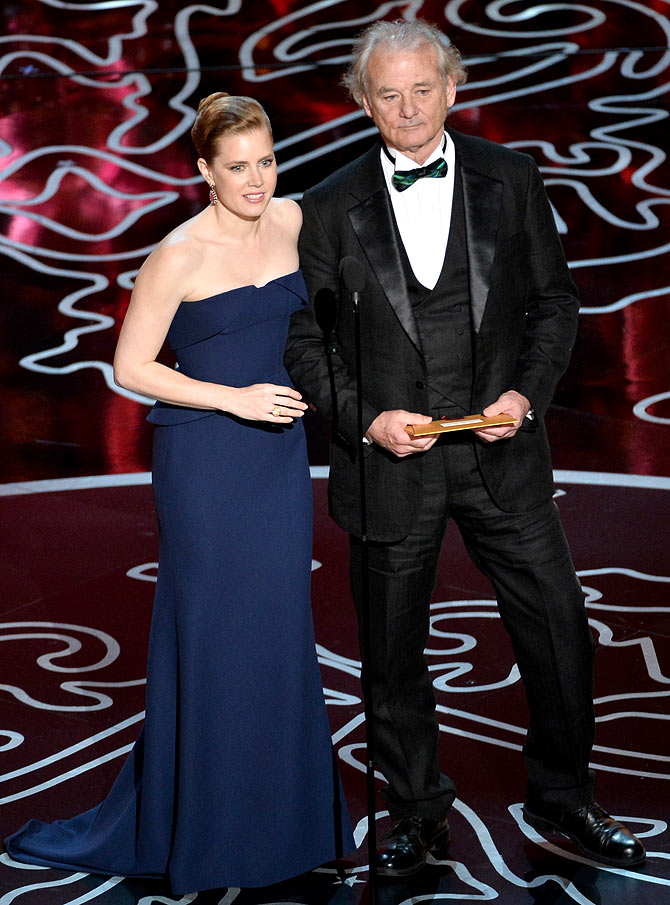 Amy Adams and Bill Murray