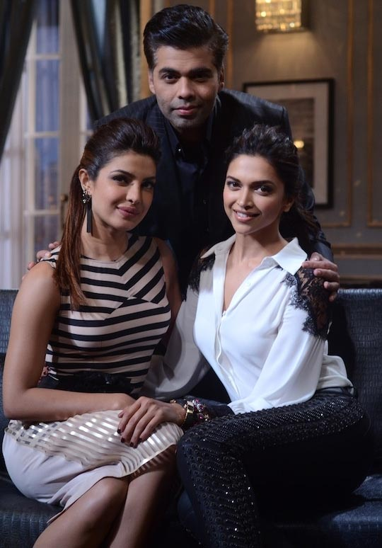 Priyanka Chopra and Deepika Padukone on Koffee With Karan
