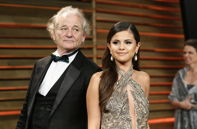 Bill Murray and Selena Gomez