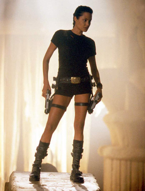 Angelina Jolie in Lara Croft: Tomb Raider