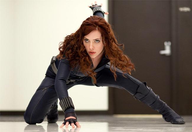 Scarlett Johansson in Iron Man 2