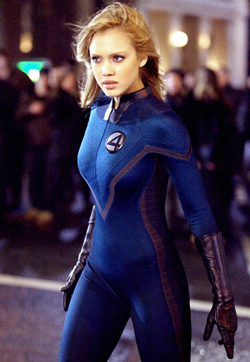 Jessica Alba in Fantastic 4