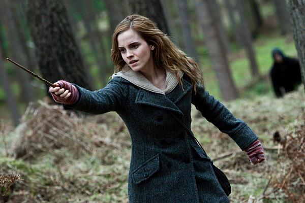 Emma Watson in Harry Porter series