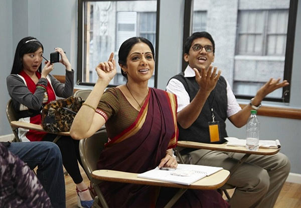 Sridevi in English Vinglish. Inset: Gauri Shinde