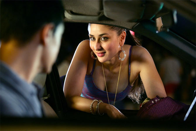 Kareena Kapoor in Talaash. Inset: Reema Kagti