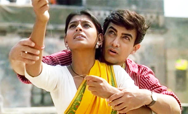 Nandita Das and Aamir Khan in 1947Earth. Inset: Deepa Mehta
