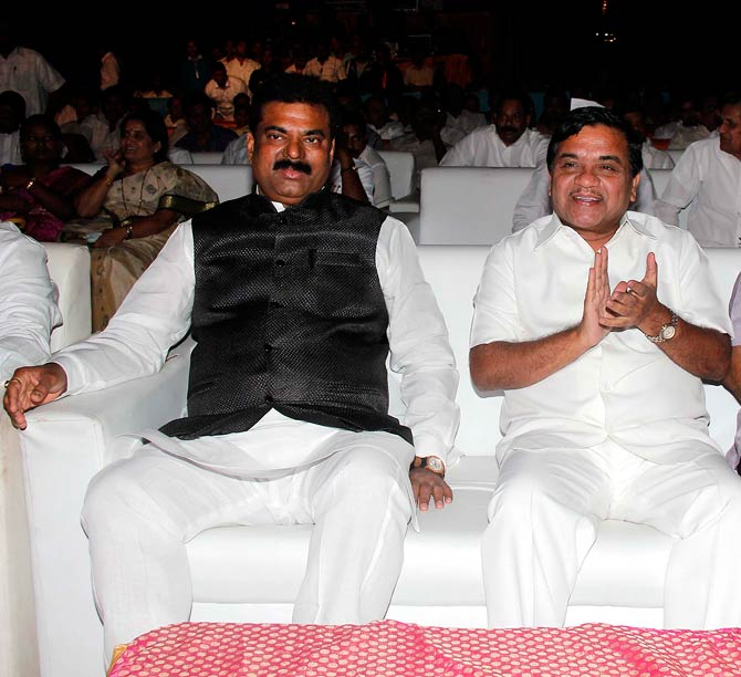 Kapil Patil and R R Patil
