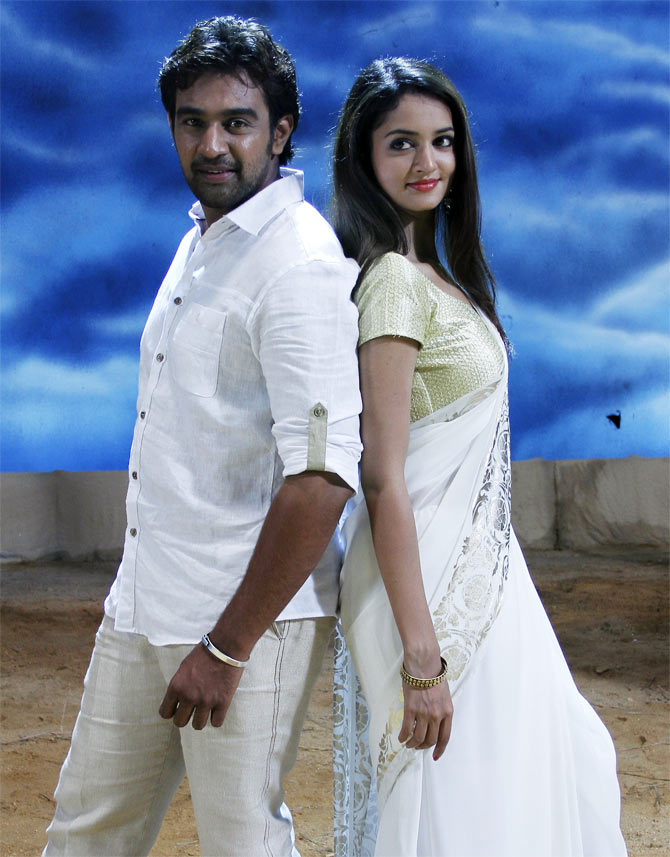 A still from Chandralekha