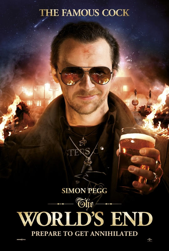 Movie poster of The World's End
