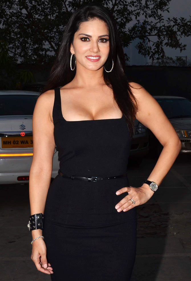 Sunny Leone on Fear Files