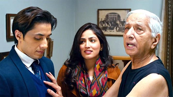 Ali Zafar and Yami Gautam and Vishwa Badola in Total Siyapaa
