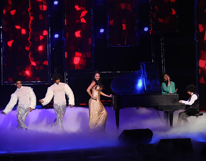 A scene from the finale of India's Got Talent