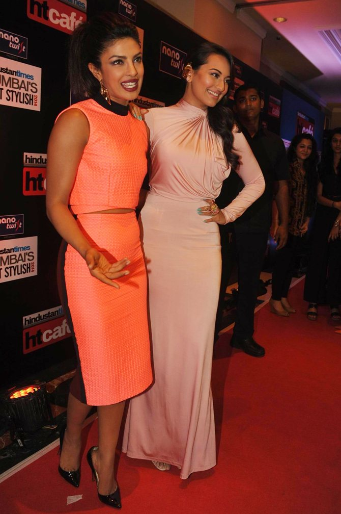 Priyanka Chopra and Sonakshi SInha