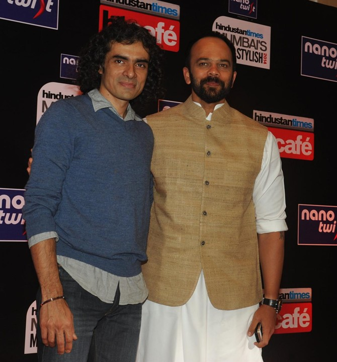 Imtiaz Ali and Rohit Shetty