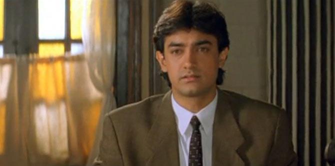 Aamir Khan in Akele Hum Akele Tum