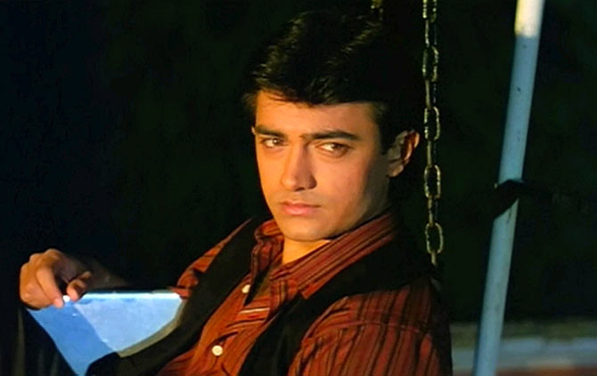 Aamir Khan in Dil Hai Ki Manta Nahin