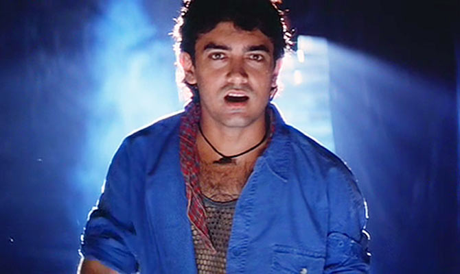 Aamir Khan in Rangeela